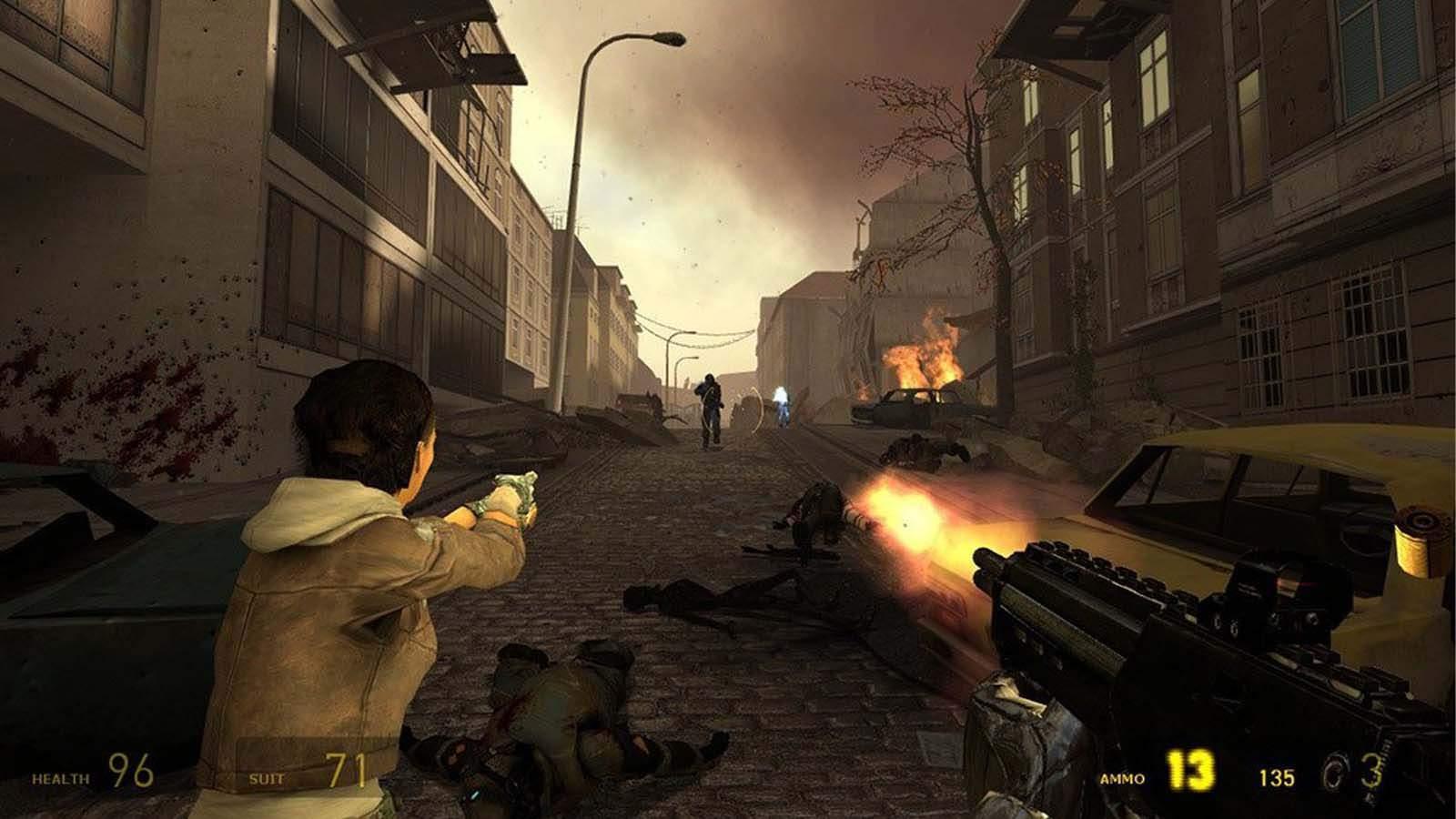 تحميل لعبة Half Life 2 Episode 1 مضغوطة برابط واحد مباشر + تورنت كاملة مجانا