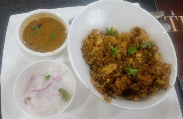 Mutton Egg Kothu Paratha