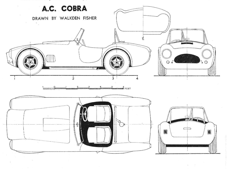 Car And Driver Grand Prix Ac Cobra Y El Shelby Cobra