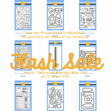 Sunny Studio Stamps Flash Sale