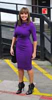 Carol Vorderman calves
