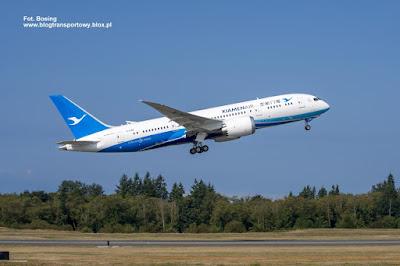 Boeing 787-8, B-2768, Xiamen Airlines