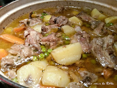 Navarin d'agneau traditionnel