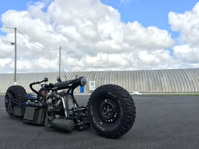 Twin Turbo Diesel AWD Motorcycle