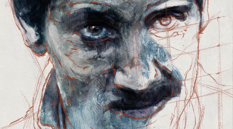 Portrait 348 Blue Light