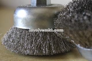 custom cup brushes in stainless steel wire