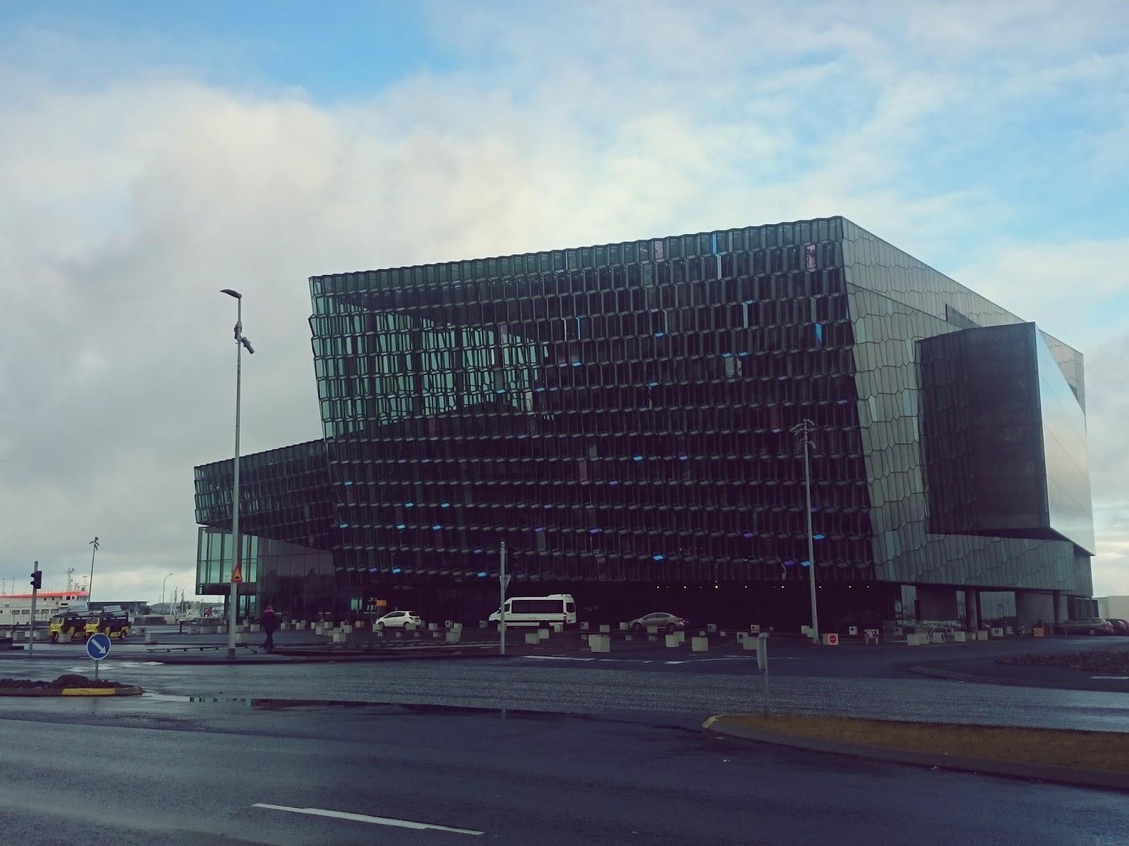 Reykjavik, miasto, stolica, Islandia, Krajobraz, Harpa
