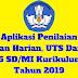 Aplikasi Penilaian Ulangan Harian, UTS Dan UAS Kelas 5 SD/MI Kurikulum 2013 Tahun 2019 - Ruang Lingkup Guru
