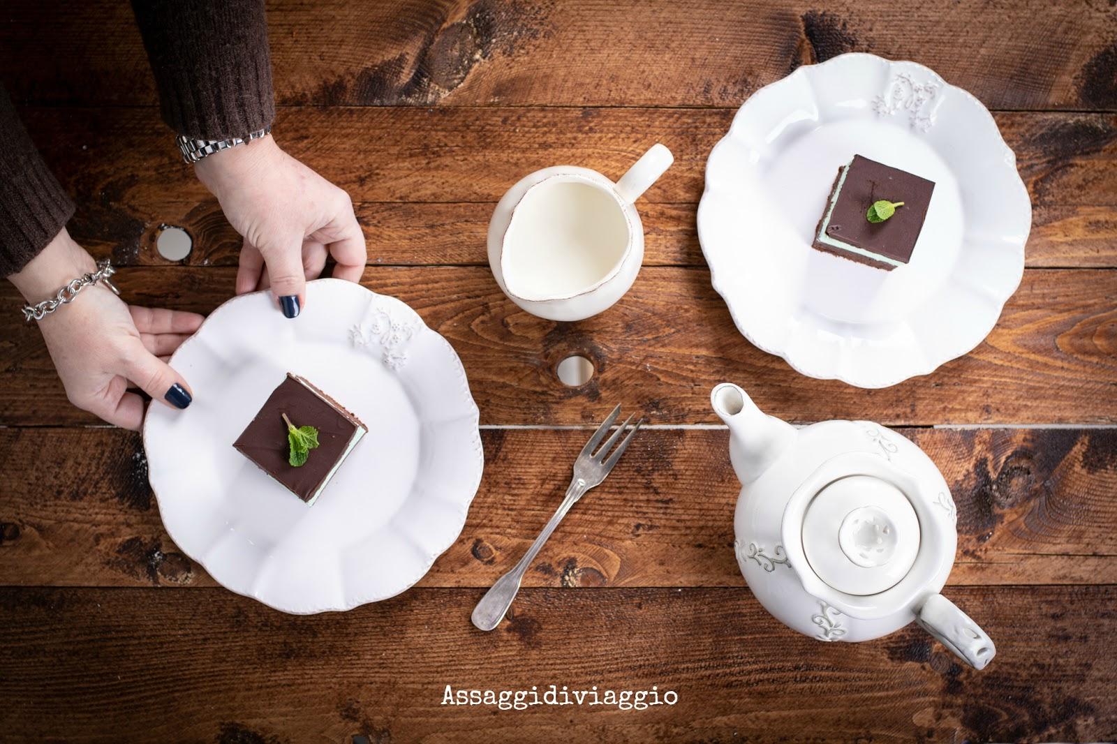 Brownie cioccolato e menta