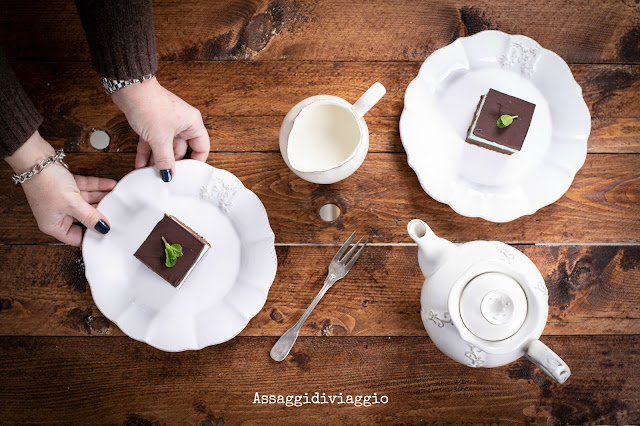 Brownies cioccolato e menta