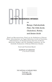 DRI Dietary Reference Intakes