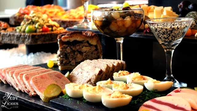 Meat Loaves Buffet at Spectrum Fairmont Hotel Makati Manila PH