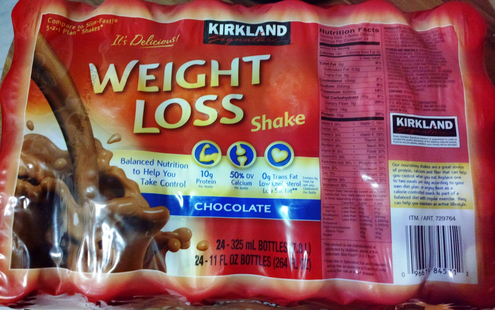Kirkland Weight Loss Shake