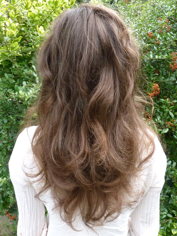 Haarfoto nach 8 Monaten WO (nachher)