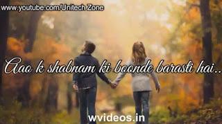 Tera Hone Laga Hoon Whatsapp Status Video