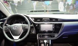 Hình ảnh nội thất Toyota Altis 2018 Việt Nam