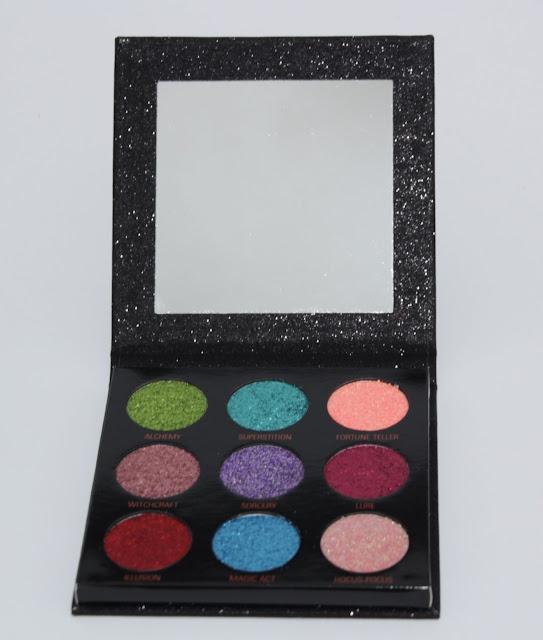 Paleta de glitter prensado Abracadabra