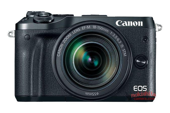 Canon EOS M6, вид спереди