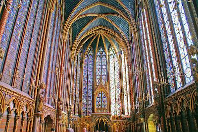 Saint Louis' Saite Chapelle