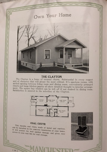 Manchester Manufacturing Company Clayton model in 1926 catalog