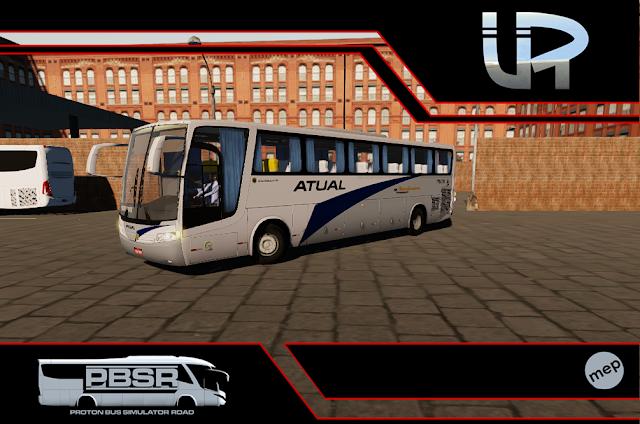 Skin Proton Bus Simulator Road - Vissta Buss LO O-500 RS Viação Atual