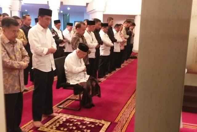 Jokowi Tak Apresiasi Prabowo di Debat, Ma'ruf Amin: Sudah Salaman