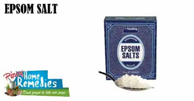 Home Remedies for Cracked Heels: Epsom Salt