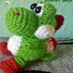 patron dragon Yoshy amigurumi    free pattern amigurumi dragon Yoshy