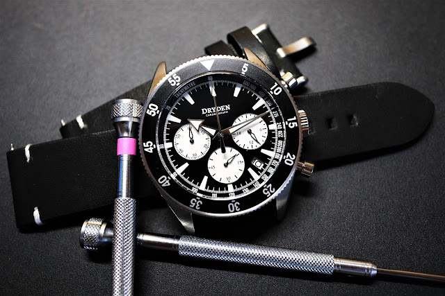 Dryden Chrono Diver black
