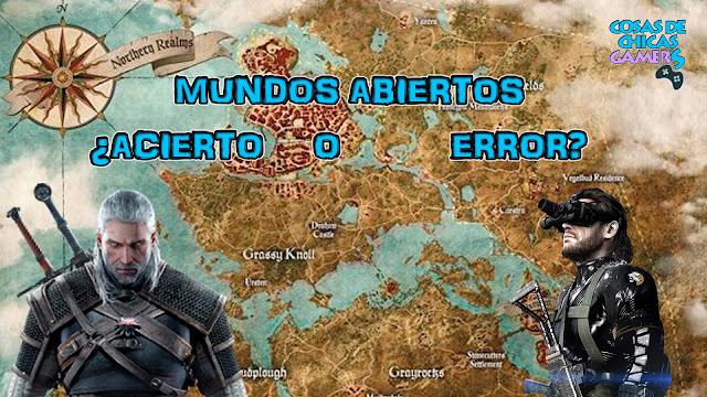 Mundos abiertos en videojuegos