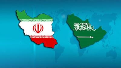 bendera arab saudi dan iran