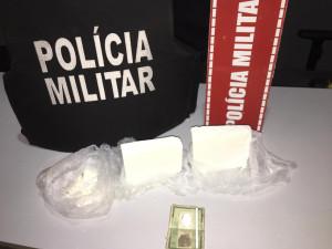 PM apreende cocaína em operação no Sertão