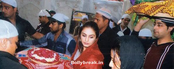 Huma Qureshi, Huma Qureshi Visits Ajmer Sharif Before Dedh Ishqiya Release