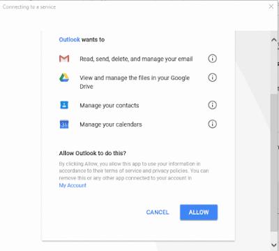 menghubungkan gmail dengan cortana di windows 10-4