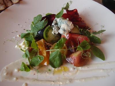 Heirloom Tomatoes & Plums