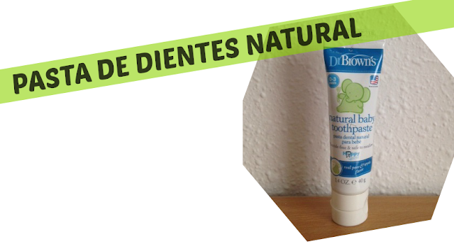 Pasta de dientes natural Dr.Browns