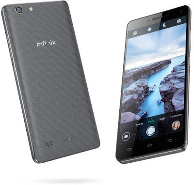 Infinix Hot 3 X553 Spesifikasi Terbaru