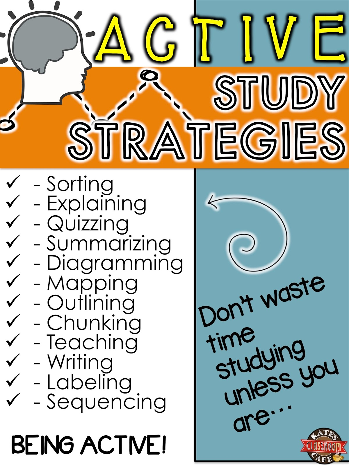 Kate S Science Classroom Cafe Active Study Strategies