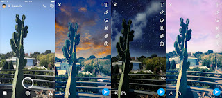 Snapchat's new filters make your photo backgrounds look surreal