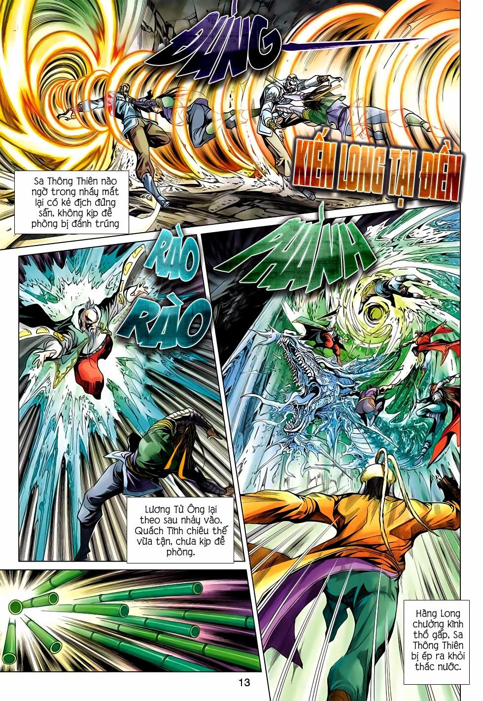 Anh Hùng Xạ Điêu anh hùng xạ đêu chap 56: tuyệt tình vô nghĩa lãnh huyết ác niệm trang 13