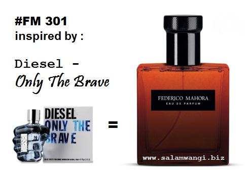 jual parfum original murah, jual parfum fm, parfum mewah pria, parfum diesel only the brave