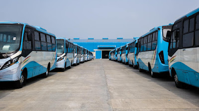 Facts About The New BRT Buses In Lagos (Photos)