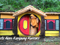 Kampung Dwarf Hobbit Houses in Purbalingga slopes of Mount Slamet