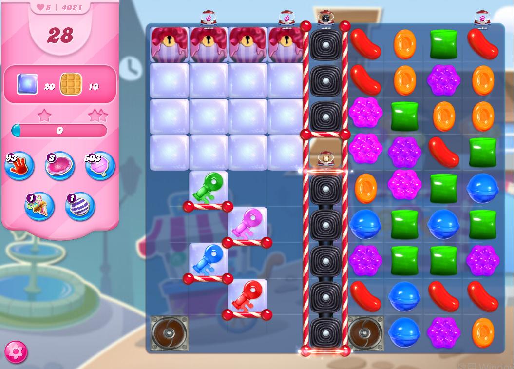 Candy Crush Saga level 4021