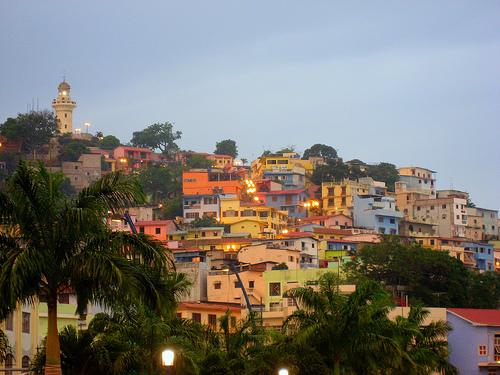 Cerro Santa Ana en Guayaquil