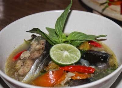 Resep Sup Pindang Patin Asam Pedas