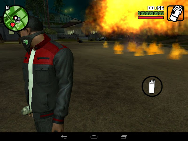 Call An Airstrike Mod GTA San Andreas Android Download