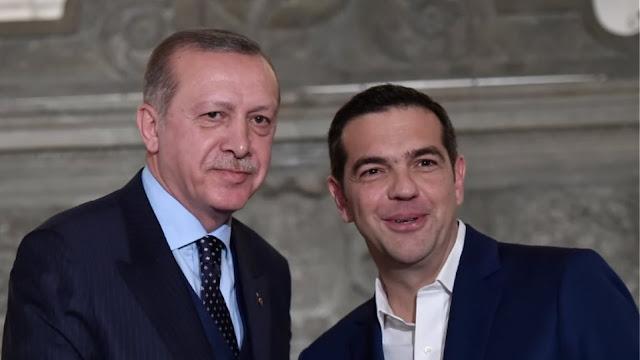 Η... ειλικρίνεια μεταξύ Τσίπρα - Ερντογάν και η κωλοτούμπα ως θεσμός