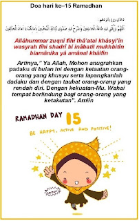 Image result for RAMADHAN KE 15