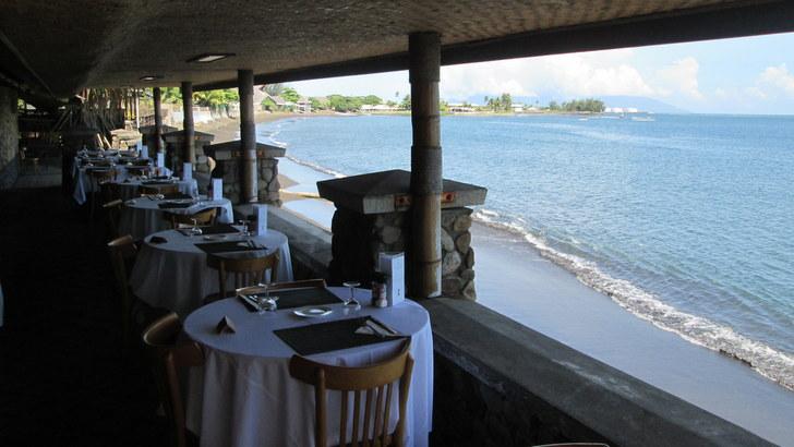 Restaurant de l'hotel Royal Tahitien